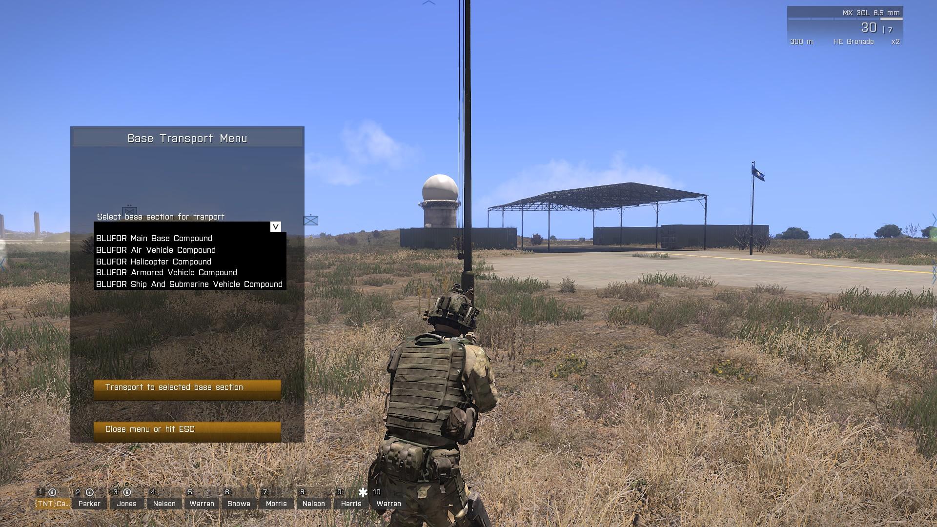 forward edge of the battle area mission help tntsquad